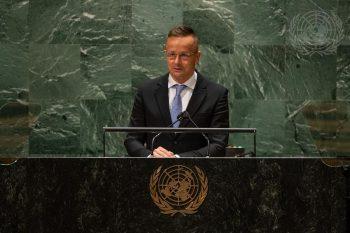 Szijjártó United Nations