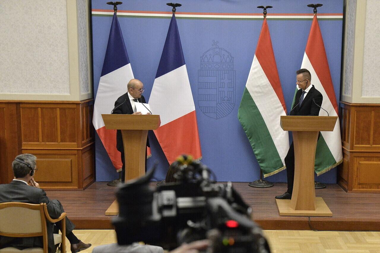 Szijjártó and French Foreign Minister 3