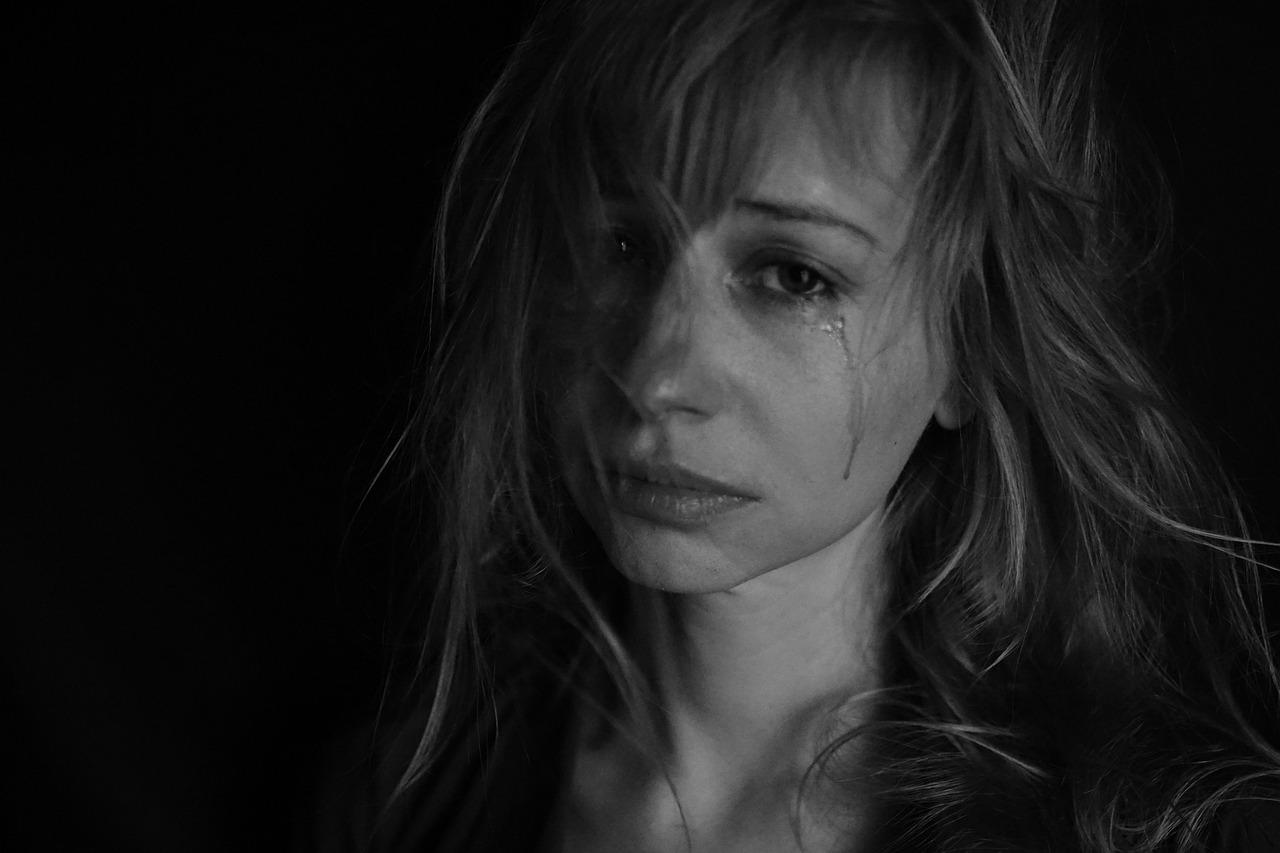 Tears Abuse Woman Crime