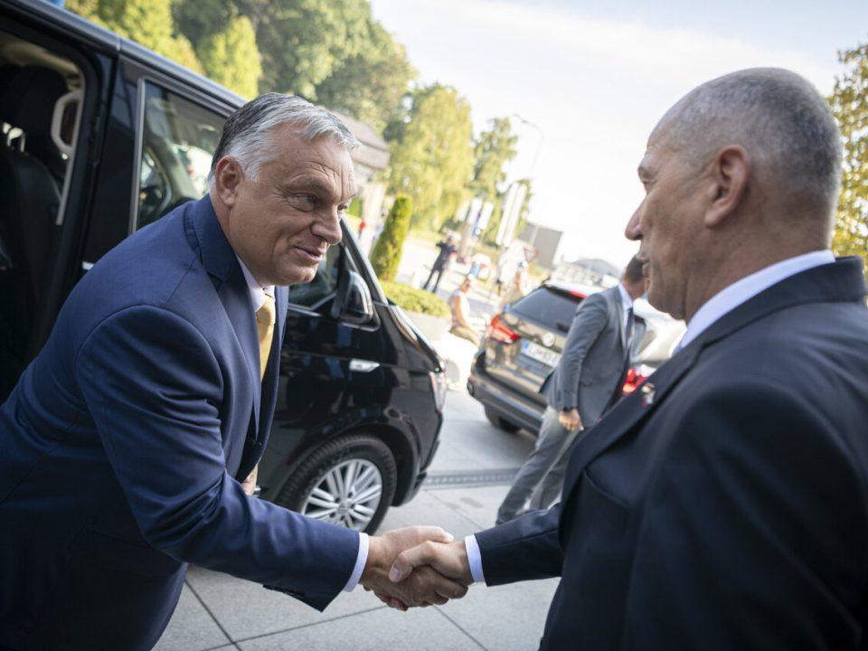 Viktor-Orban-Slovenia-visit