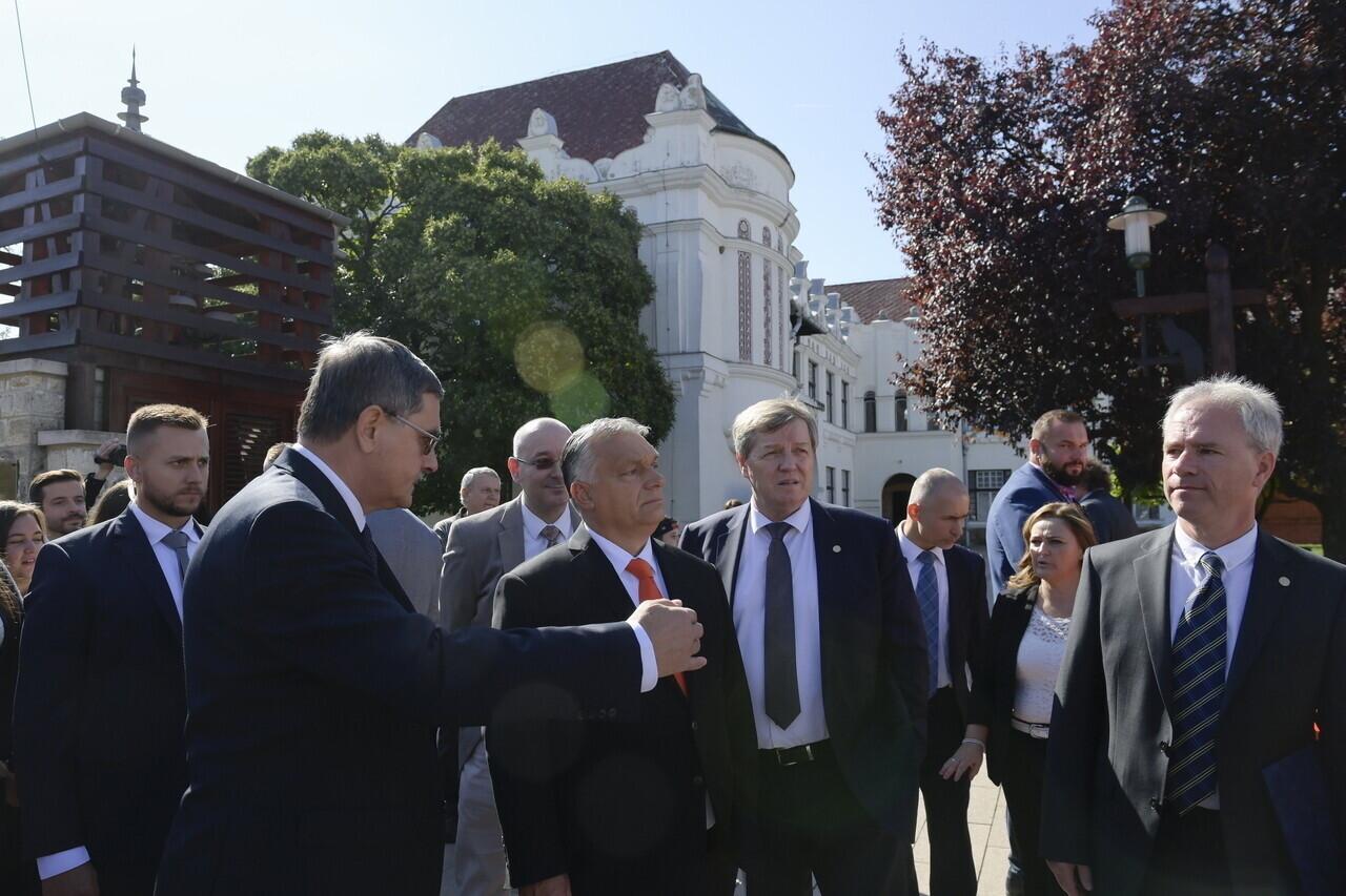 Viktor Orbán Tokaj-Hegyalja University Opening 2