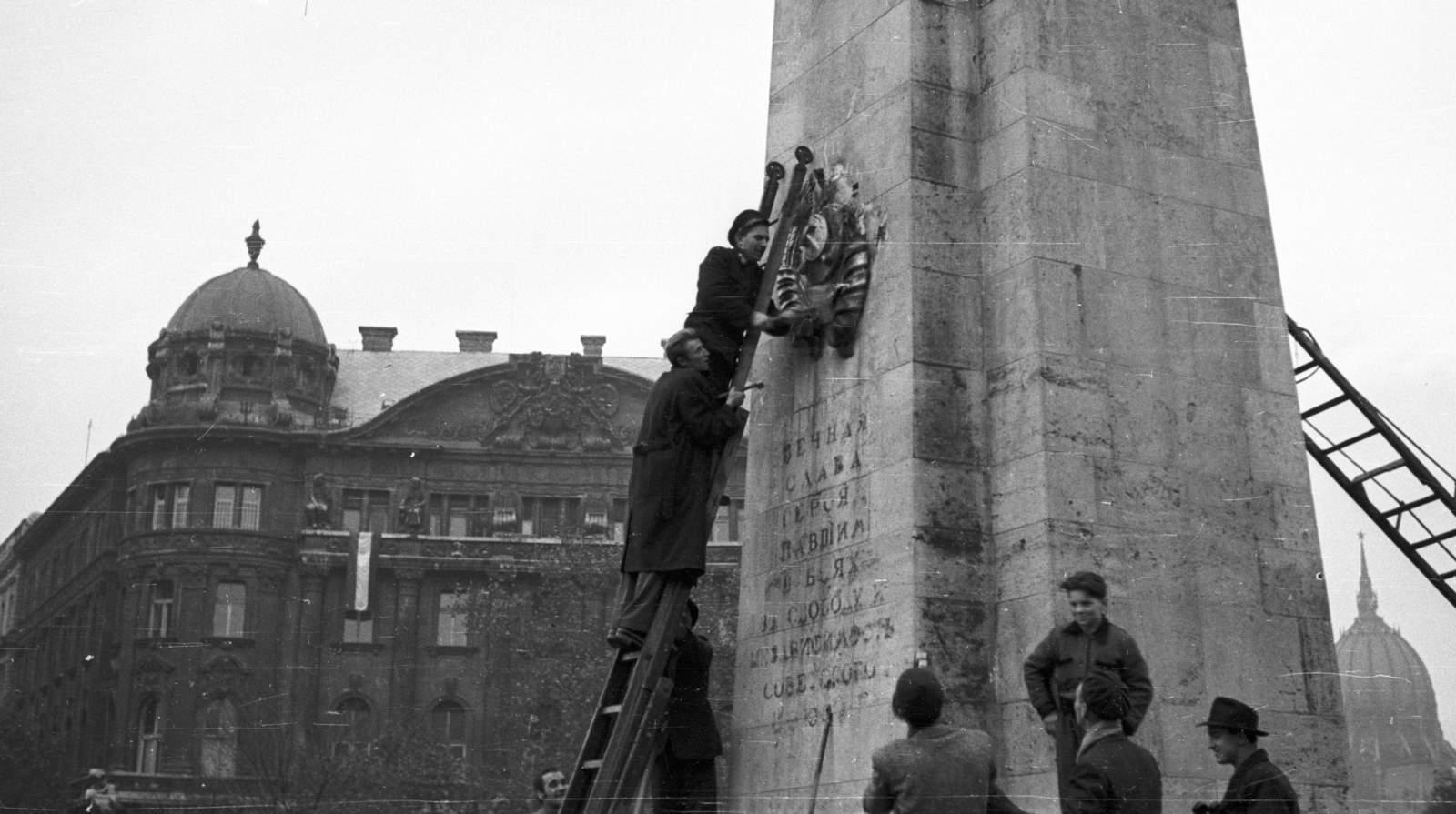Budapest history 1956