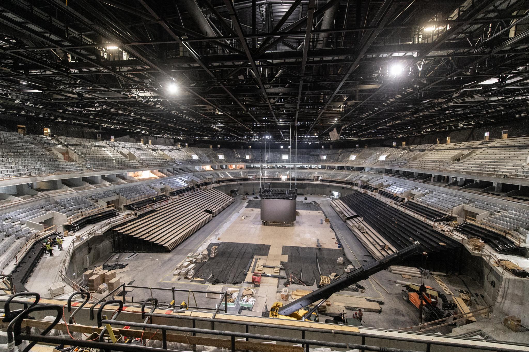 handball stadium budapest Interior building 2