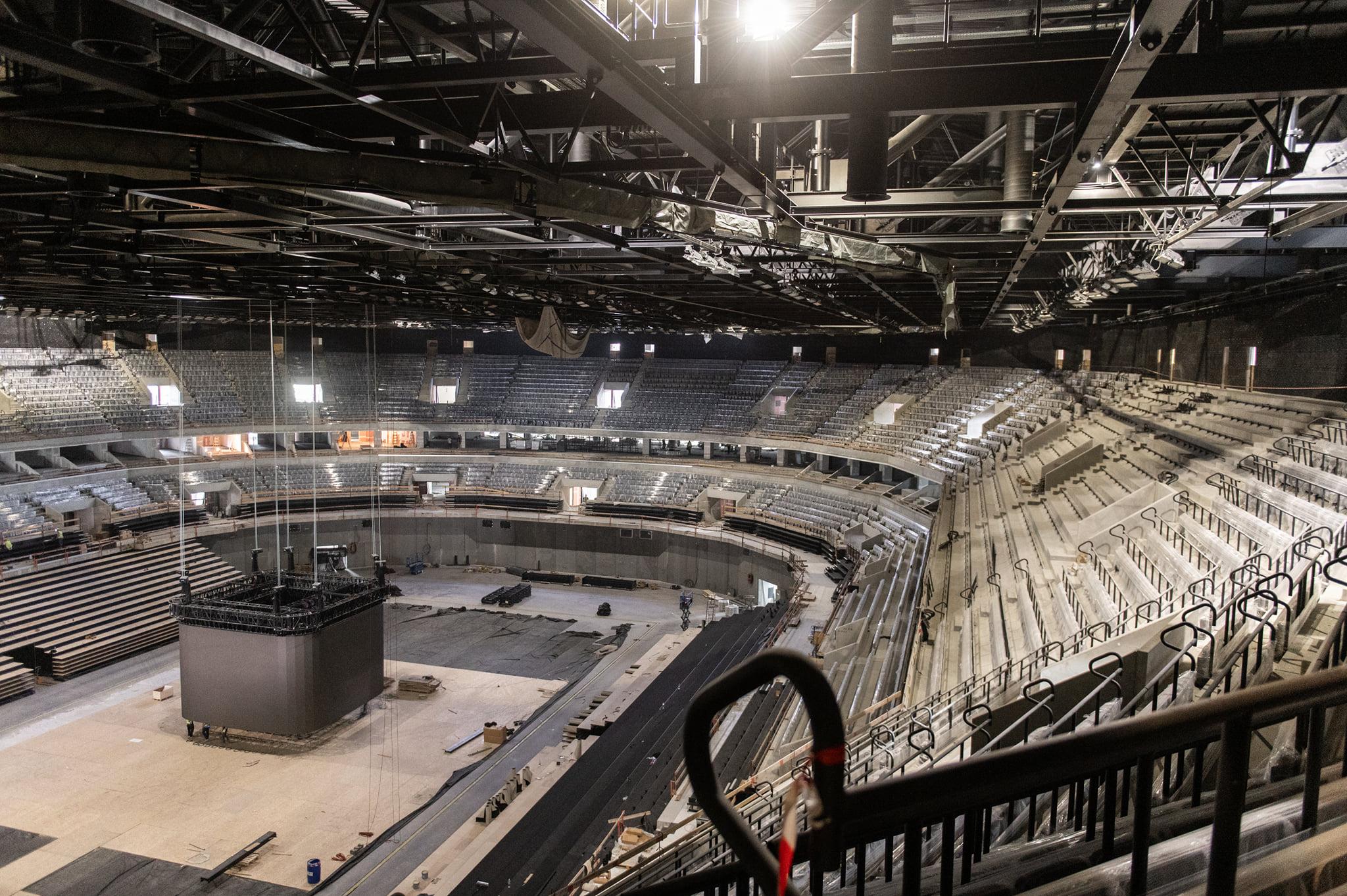 handball stadium budapest Interior building 4