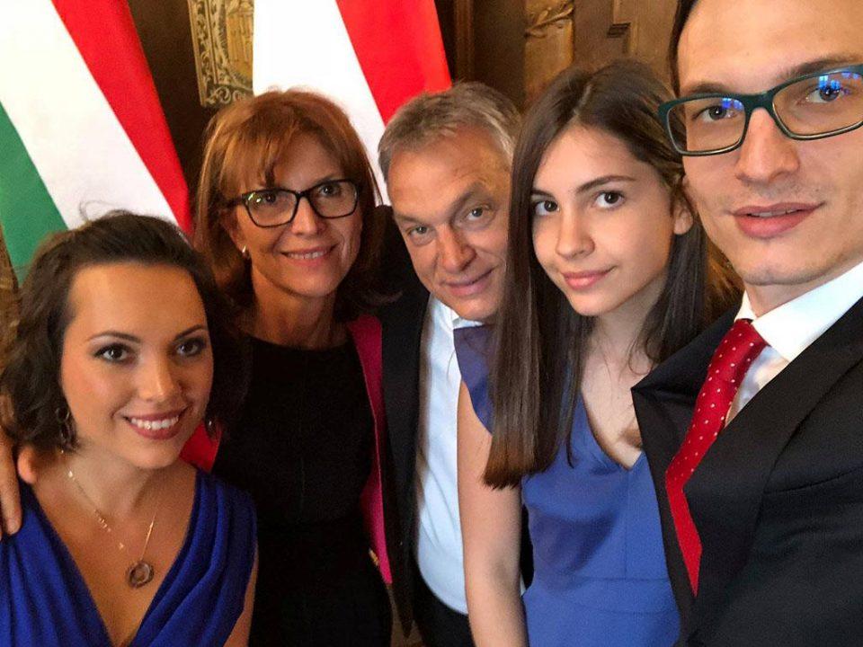 Viktor Orbűn Family