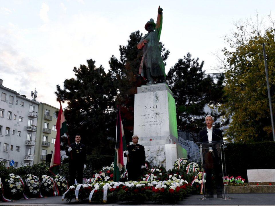 1956 Commemoration Budapest Miklós Soltész