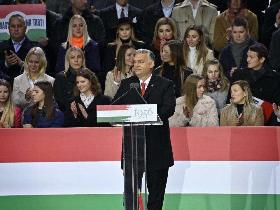 1956 Commemoration Hungarian Revolution Budapest Viktor Orbán Speech