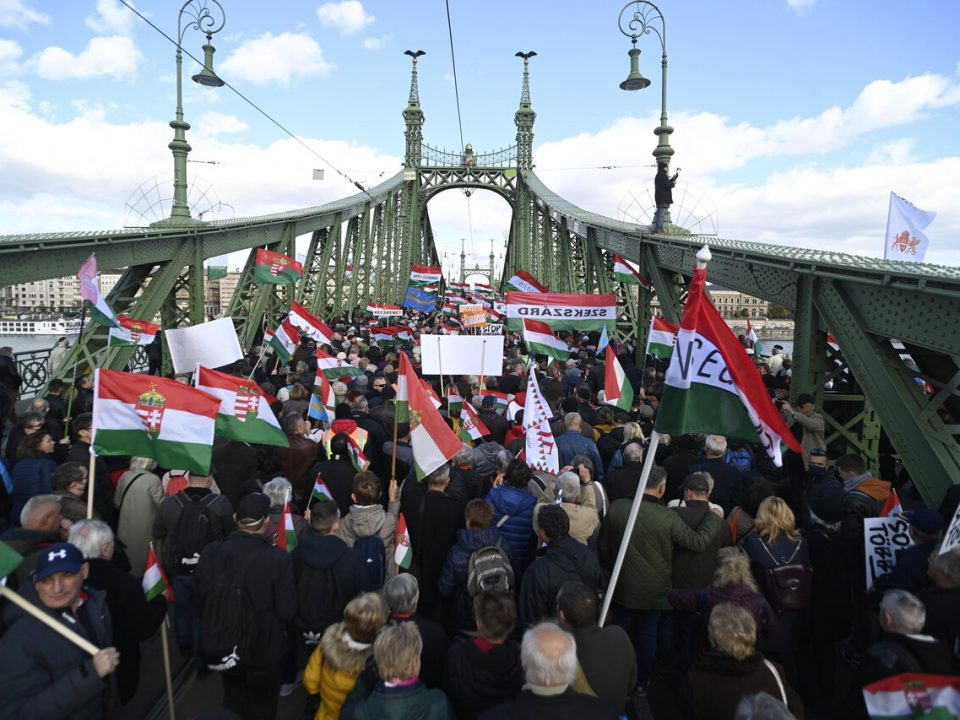 1956 Hungarian Revolution Commemoration Freedom March