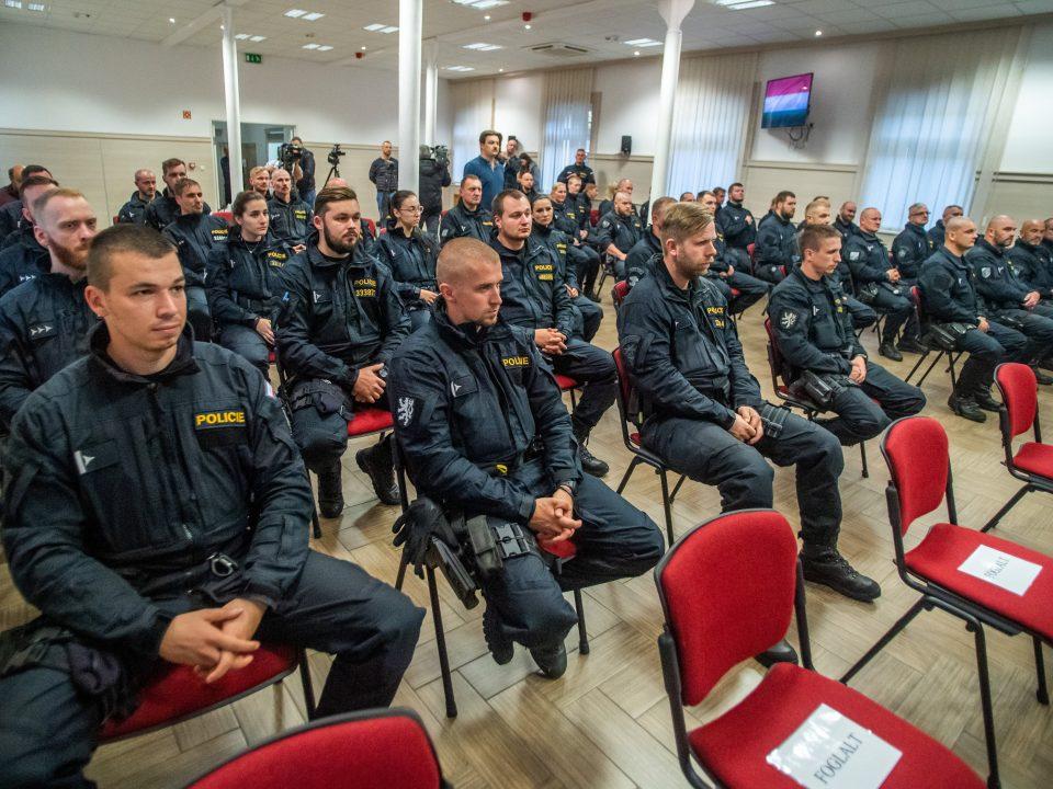 Czech Police Hungary Border Control