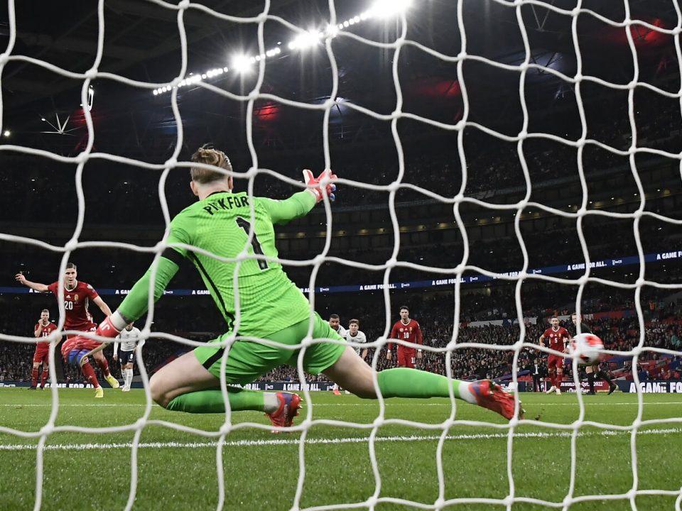 Hungary England football Wembley