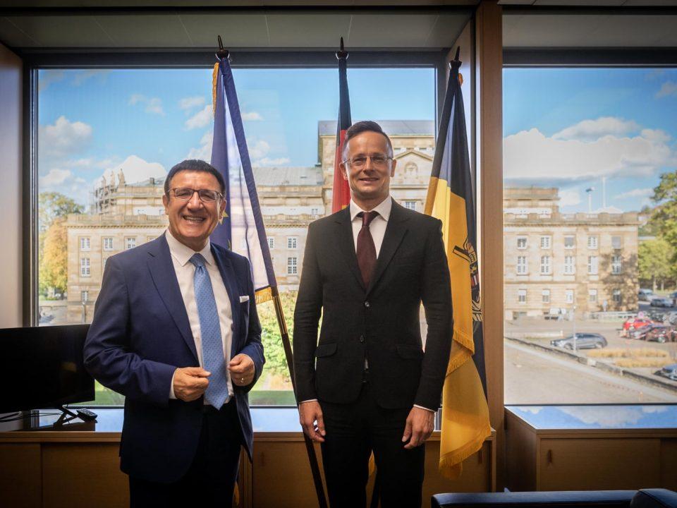 Germany minister Szijjártó