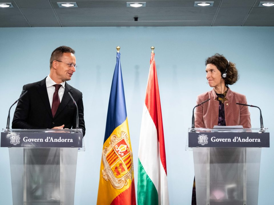 Hungary Andorra Szijjártó 2