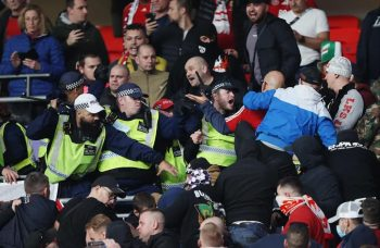 Hungary England football clash