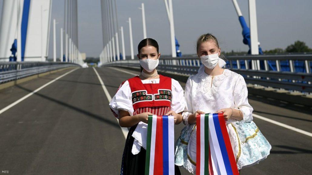 Hungary Slovakia bridge infrastructure