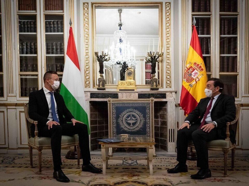Hungary Spain Szijjártó 1