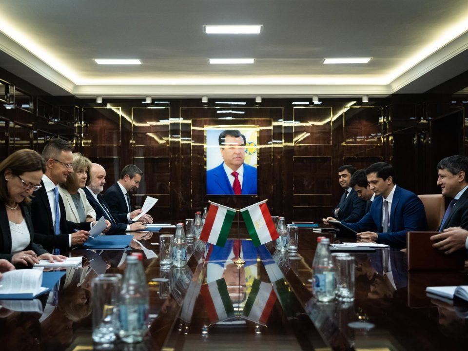 Hungary Tajikistan water