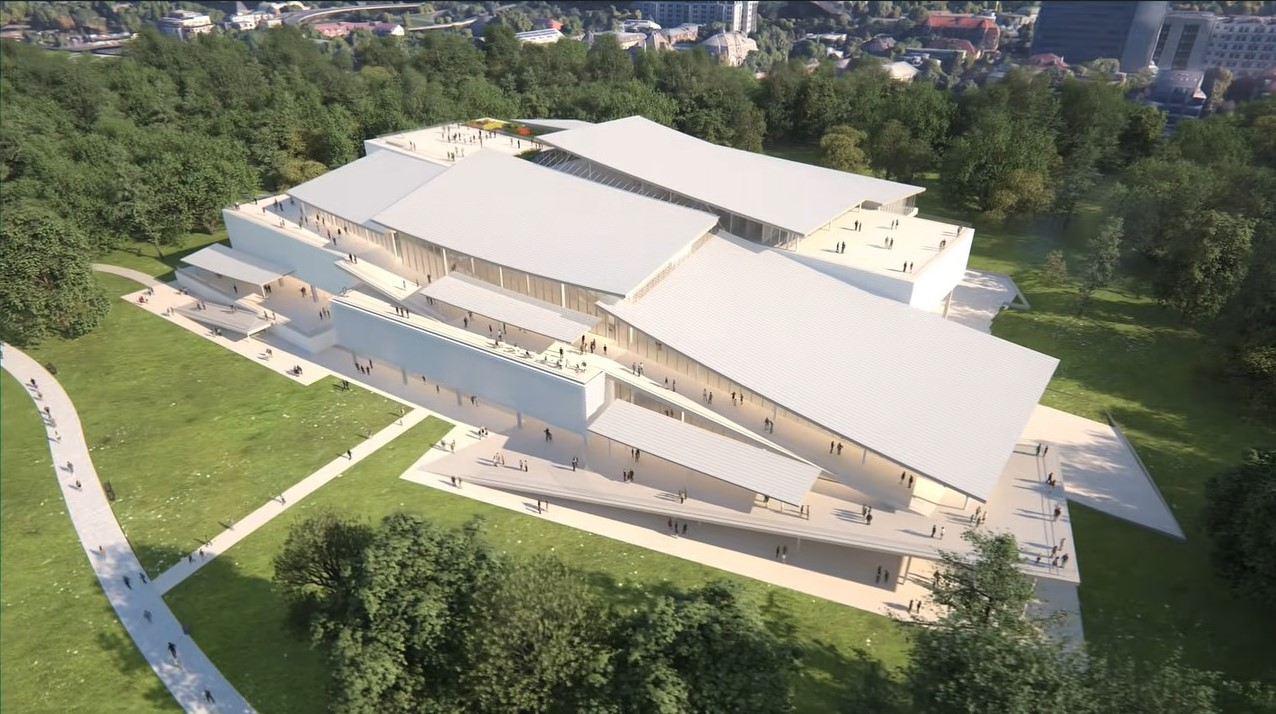 Liget Budapest Project-New National Gallery-Városliget