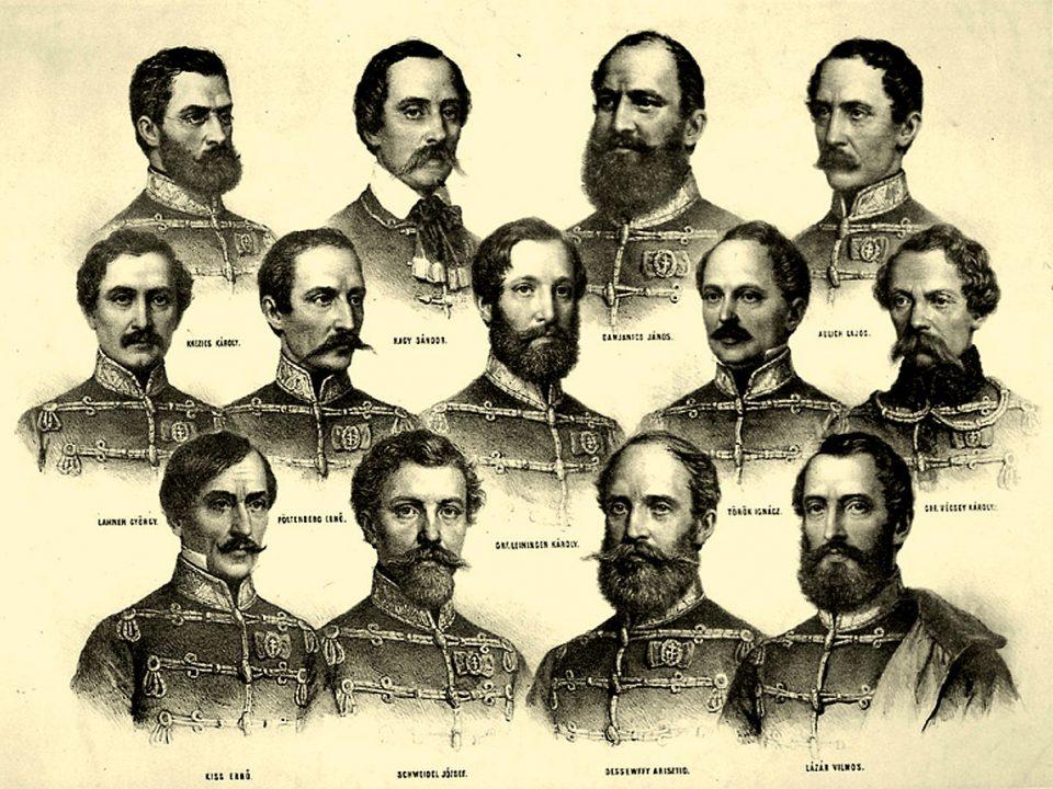 Martyrs of Arad-Hungary-history
