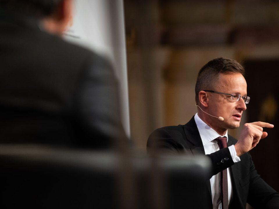 Péter Szijjártó Foreig Minister of Hungary
