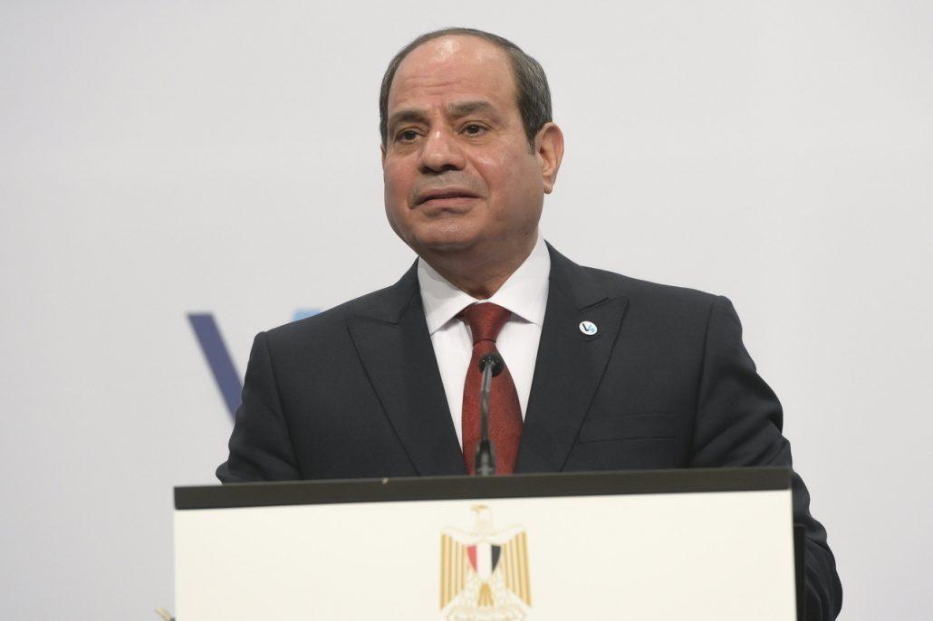 President Abdel Fattah el-Sisi of Egypt
