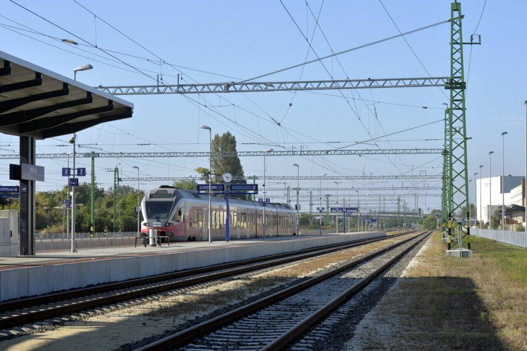 Railway train development