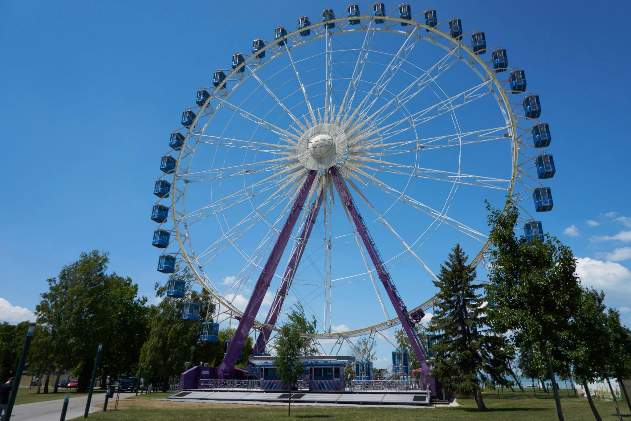 Siófok ferris wheel