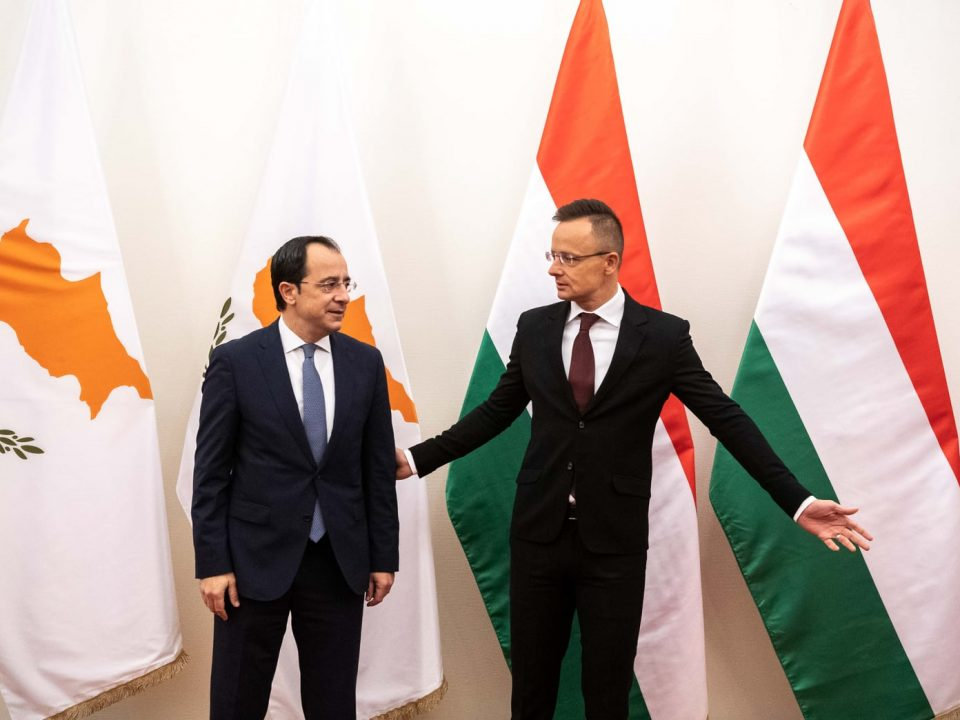 Szijjarto discusses migration, current affairs with Cypriot counterpart