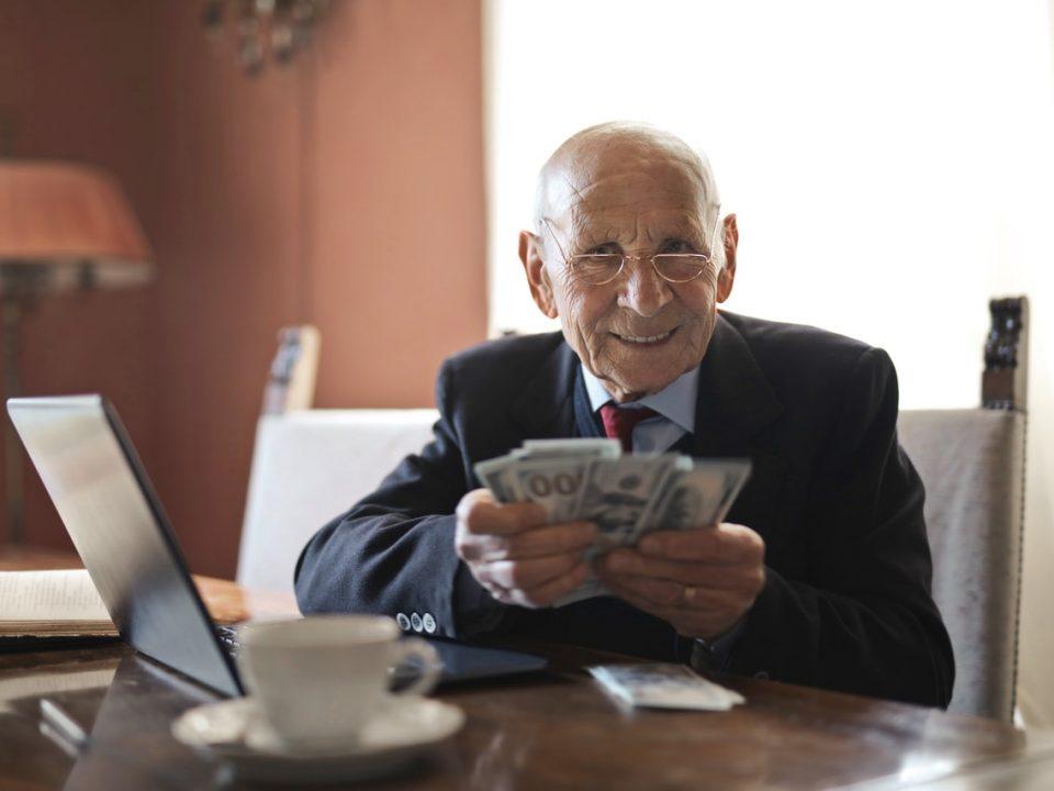 Wealth old man