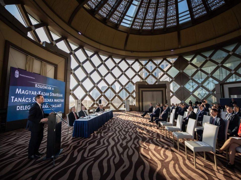 Hungarian-Kazakh Strategic Council meets in Nur-Sultan