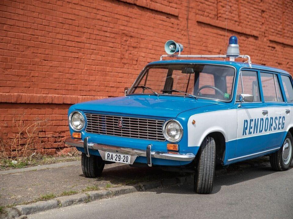 zsiguli lada police car